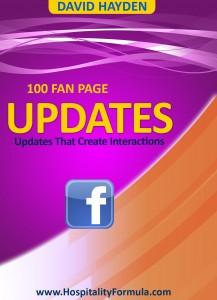 Facebook Updates for restaurants