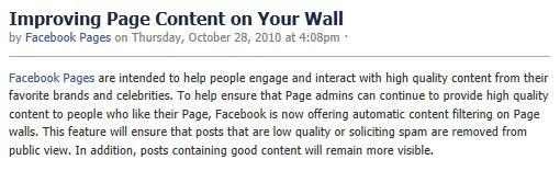 quality content facebook