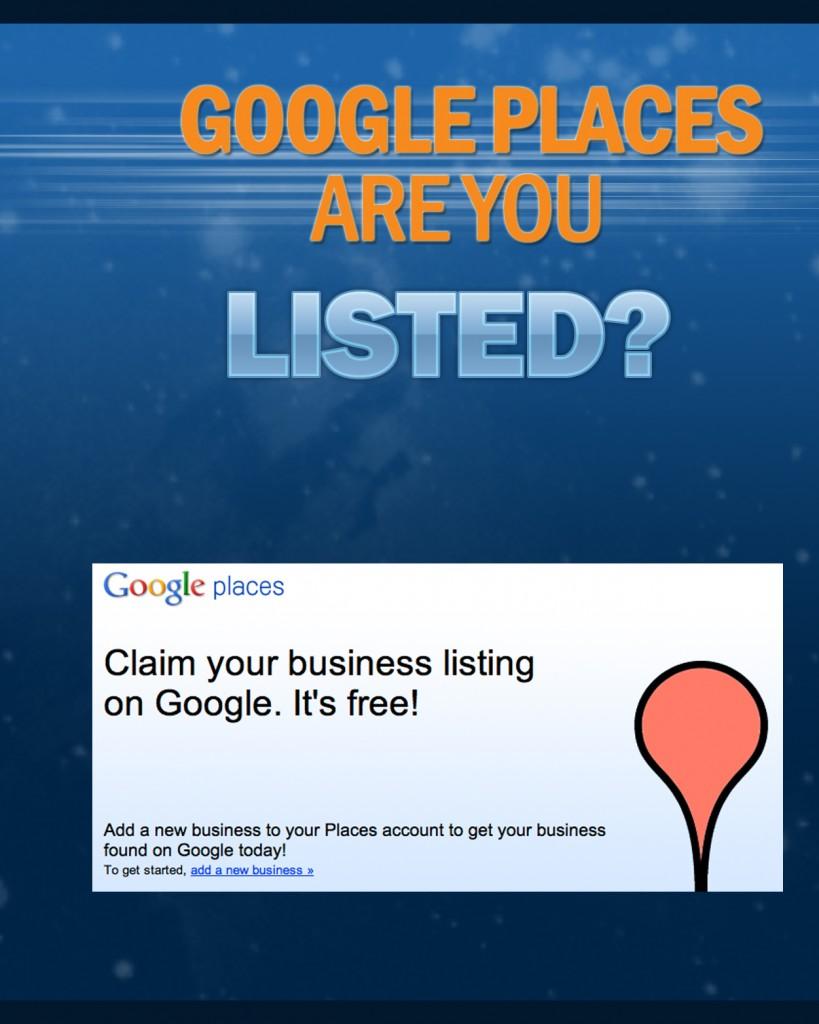 restaurant marketing google places
